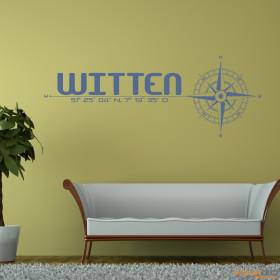 """Wandtattoo """"Stadt Witten"""""""