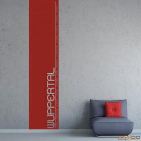 """Wandtattoo """"Stadtbanner Wuppertal"""""""