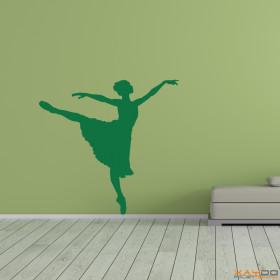 """Wandtattoo """"Tänzerin"""""""