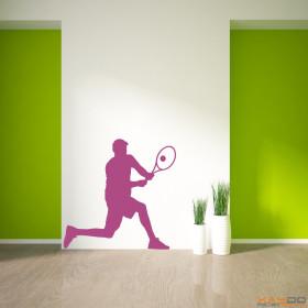 "Wandtattoo ""Tennis Spieler"""