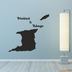 "Wandtattoo ""Trinidad & Tobago"""