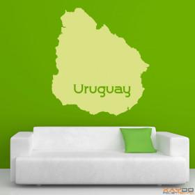 """Wandtattoo """"Uruguay"""""""