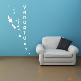 """Wandtattoo """"Vanuatu"""""""