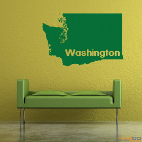 "Wandtattoo ""Washington"""