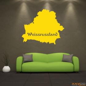 """Wandtattoo """"Weissrussland"""""""