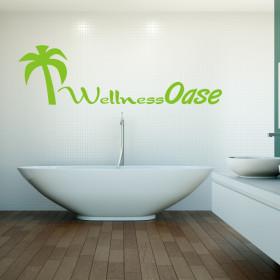 """Wandtattoo """"Wellness Oase"""""""