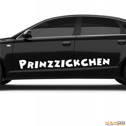 """Autoaufkleber """"Prinzzickchen"""""""