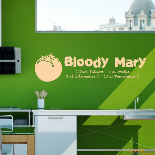 bloody mary spruch