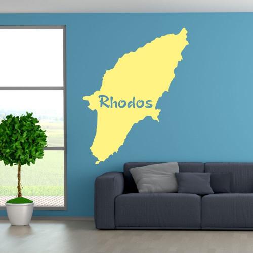 "Wandtattoo ""Rhodos"""